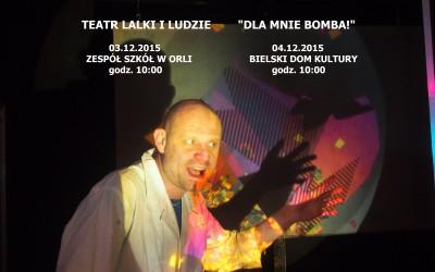 """LAS KULTURY – """"Dla mnie bomba!"""" Teatr Lalki i Ludzie"""