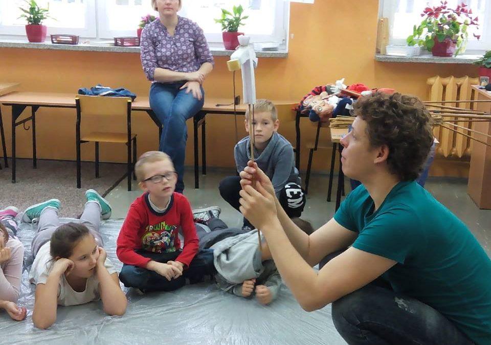 Warsztaty lalkarskie w ramach projektu Akcja animacja! Teatr na jesienną nudę